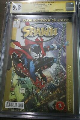 Spawn 25th Anniversary Edition CGC SS 9.8 Signed by Todd McFarlane