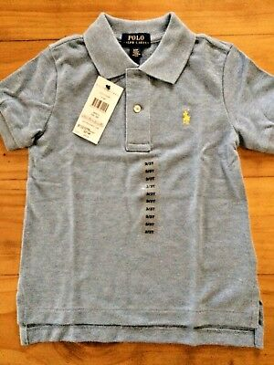 Ralph Lauren Boy Polo Classic T Shirt Top Size 3/3T New With Tags BNWT Blue Gift