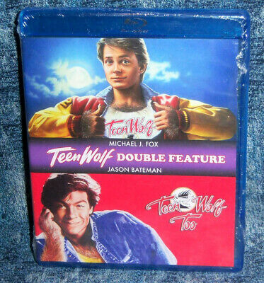 New Shout Factory Teen Wolf & Teen Wolf 2 Too Double Feature Blu Ray Movie Set