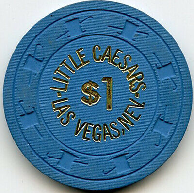 Little Caesars Casino - Las Vegas - $1 Chip - 1970