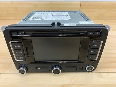 NEW VW RNS-510 Navigation Radio RNS510 Head Unit 3C0035684P GPS MK5