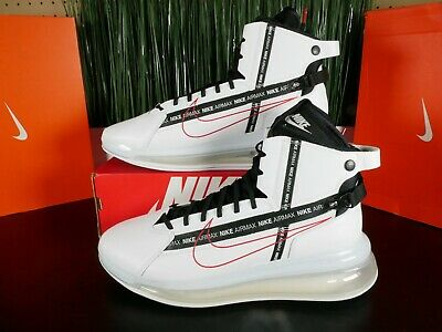 Nike Air Max 720 Saturn White/Red Mens Shoes AO2110-100 Multi Size