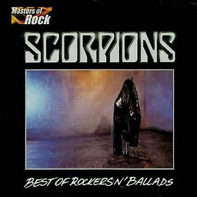 The Best of Rockers 'N' Ballads by Scorpions (CD, Sep-2001, EMI Music NEW #18
