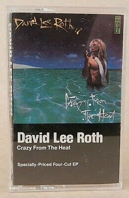 David Lee Roth - Crazy From The Heat - Cassette - Premium CrO2 Audiophile tape