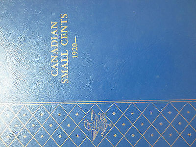 Set of Canada Small Cents Coins (1920-1969) BETTER GRADE Whitman BOOK (SC14)