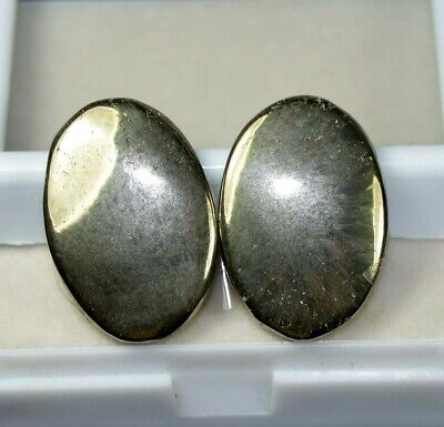 51.20 Cts. 100 % Natural Pair Of Apache Gold Untreated Cabochon Loose Gems