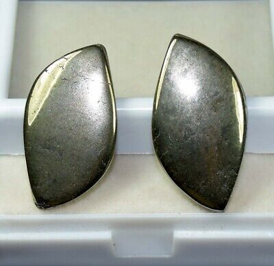 48.75 Cts. 100 % Natural Pair Of Apache Gold Untreated Cabochon Loose Gems