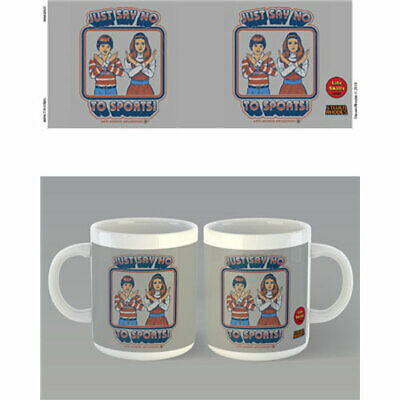 Steven Rhodes - Say No to Sports Mug x 2 BRAND NEW (Set of 2 Mugs)