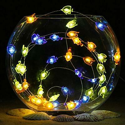 Nautical Indoor String Lights Themed Christmas Decorations, Tropical Small Fish