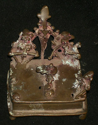 Antique Hindu Traditional Indian Ritual Bronze 'Family Of God Shiva' Rare: #6