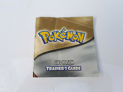 Pokemon Gold Trainers Guide, Manual. Average Condition. Game Boy Color.