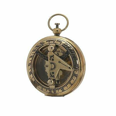 Sundial and Compass - Travel Accessories - Antique Inspired Design UK