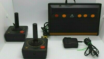 Atari Flashback Gold Gaming Console and 2 Wireless Controller