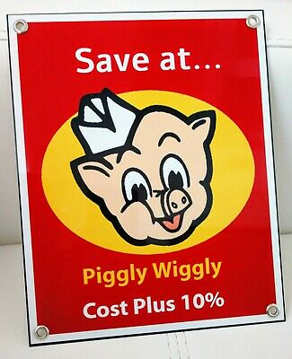 Piggly Wiggly Grocery Store nostalgia Sign