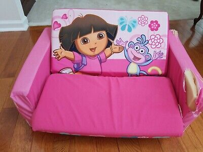 Excellent Dora The Explorer Foam Couch Pull Out Rips And Stains Machost Co Dining Chair Design Ideas Machostcouk