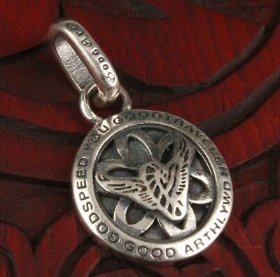 Precious Pure Solid Silver Pendant Fashion Limited Edition Mascot Collection