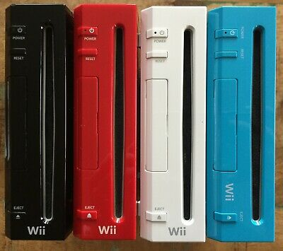 Nintendo Wii CONSOLE ONLY ✔ PICK YOUR CONSOLE RVL-001 RED BLACK ✔ WORKS GREAT!!