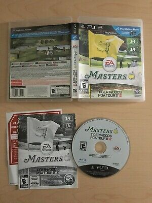 Tiger Woods PGA Tour 12: The Masters PS3 (Sony PlayStation 3, 2011)