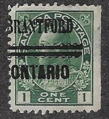 Canada City Precancel stamp - Brantford 1-104,
