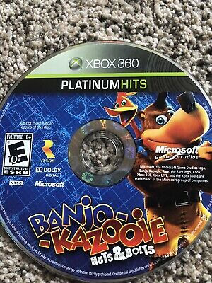 BANJO-KAZOOIE NUTS & BOLTS XBOX 360 GAME Xbox360 and banjo