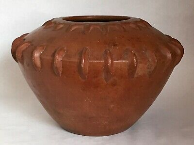Large Pre-Columbian Pottery Pot Vessel
