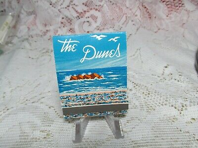 Vintage 1 Matchbook The Dunes Hotel On The Beach Lincoln City Oregon Complete