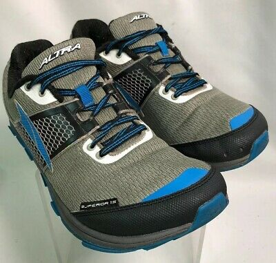 ALTRA MENS ESCALANTE Zero Drop Blue Gray Running Shoes Size