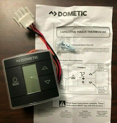 New Dometic Standard CT Thermostat Black Part# 3316250.012