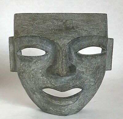 Pre-Columbian Carved Stone Mask