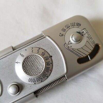 Vintage Minox Wetzlar Subminiature Spy Camera with leather Case Germany
