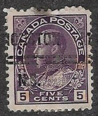 Canada City Precancel stamp - Moncton 2-112