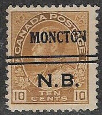 Canada City Precancel stamp - Moncton 3-118, Lot 1