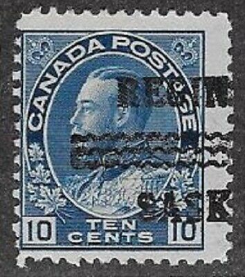 Canada City Precancel stamp - Regina 1-117