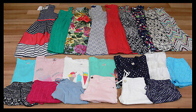 Girl's Bulk Lot Mixed Summer Clothes Includes BNWT Size 16