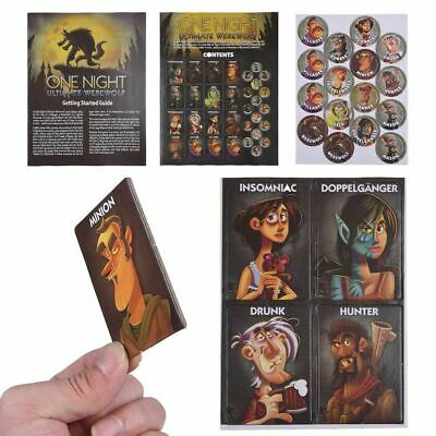 ONE NIGHT ULTIMATE Werewolf, Daybreak, Vampire plus Bonus