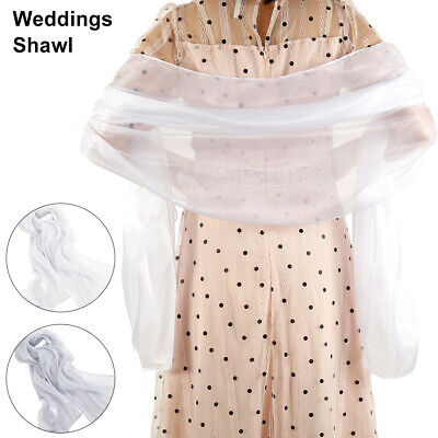 Wedding Shawl Blend Pashmina Scarf Prom Evening Ladies bride bridesmaid New AU