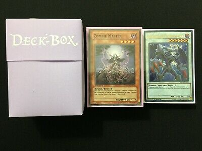 YuGiOh! Advanced Tournament Ready - Rescue Zombie Deck - X56 Cards W/ Extra Deck