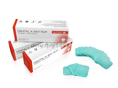 300pcs Dental X-ray Film intra-oral size 30*40mm for adult Yes!Star