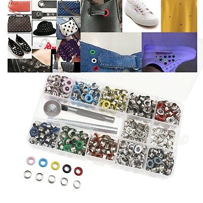 500 Set Multi-color Washer Ring Tools for Leather Craft DIY Clothing Tents