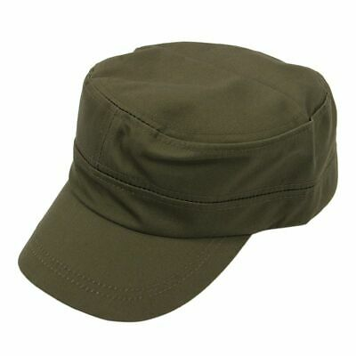 Stylish Plain Military Army Cap Castro Cadet Patrol Cap Hat Adjustable(Army W7Y1