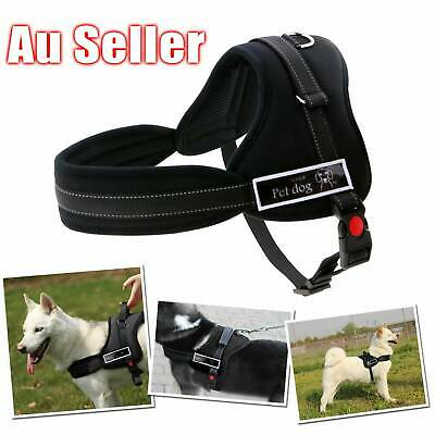 Large Dog Training Control Pull Harness Adjustable Support Comfy Pet Pitbull NEW