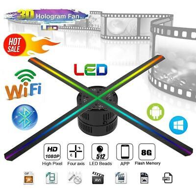 3D LED Hologram Projector Fan Holographic Display Fan Advertising Exhibiton