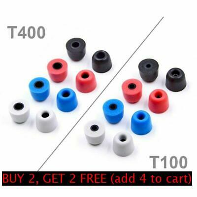 3pair Soft Memory Foam Earbuds T100 T200 T300 T400 Eartips for In-Ear Earphone