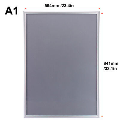 A1 Aluminum Snap Poster Frame Elevator Advertising Board Display Outdoor Indoor