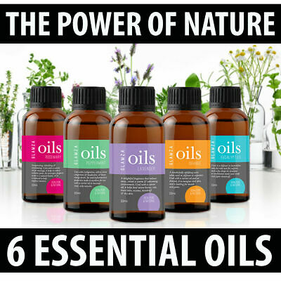 Aromatherapy Essential Oils Natural Pure Organic Oil Essential Fragrances 10ml