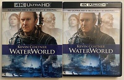 Waterworld 4K Ultra Hd Blu Ray 2 Disc Set + Slipcover Sleeve Free World Shippin