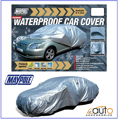 Maypole Premium Water Proof PU Coated Car Cover fits Fiat Panda