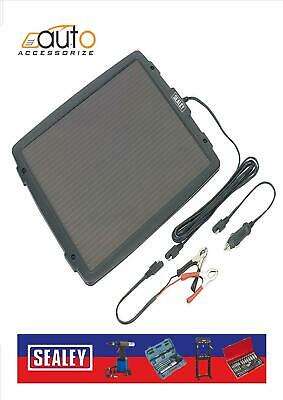 Sealey SPP03 12v LARGE Car, Caravan, Camper Solar Panel Trickle Battery Charger