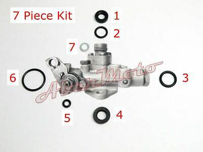 Suzuki T500 T350 T250 GT500 GT250 Oil Pump Seal Rebuild Repair Kit (7 Piece Kit)