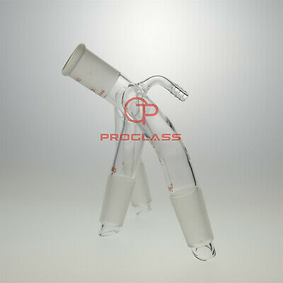 Proglass Distillation Receiver,With Hose Connection Joints 24/40